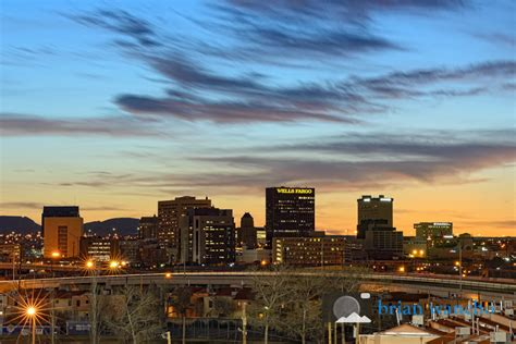 Photo of the Week: El Paso Skyline at Sunset - El Paso ...