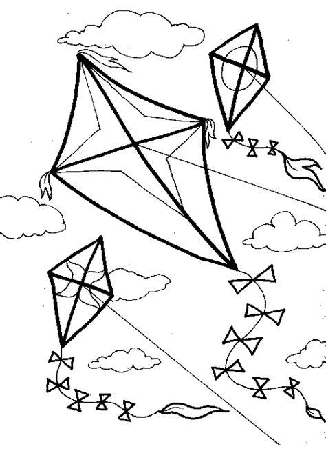 kite printable fun family crafts