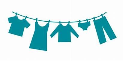 Clothes Line Clothesline Laundry Silhouette Clipart Transparent