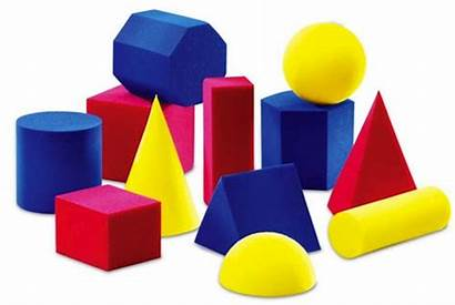 Shapes Clipart Solid Shape Geometry Dimensional Dil