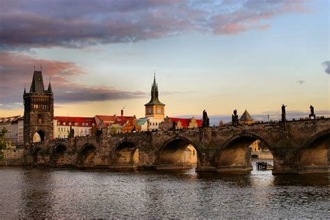 Charles Bridge In Prague Inside Nanabreads Head