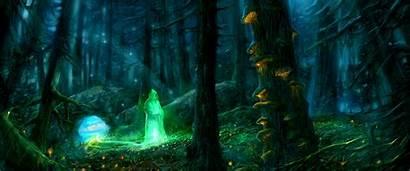 Sorcerer Fantasy Background Wallpapers Wallpaperesque Computer Backgrounds