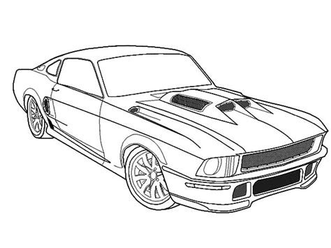 ford mustang coloring pages  getcoloringscom  printable colorings pages  print  color