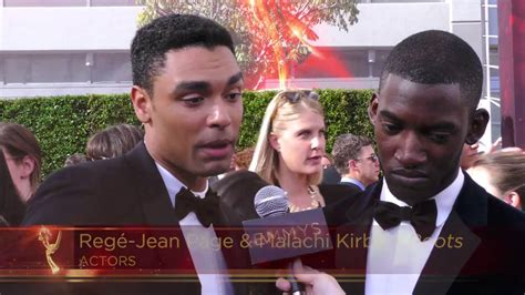 Rege-Jean Page & Malachi Kirby on their favorite part of ...