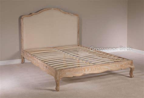 bed frame support slats white wash limed solid oak upholstered style