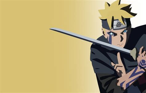 wallpaper sword naruto seal anime katana fight ken