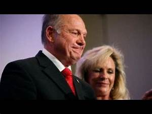 Roy Moore's wife defends him amid the allegations - YouTube