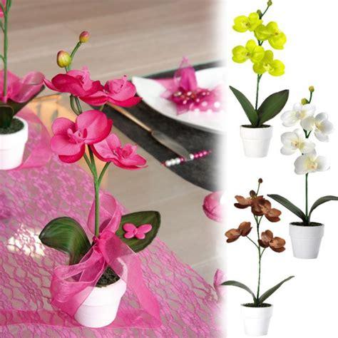 decoration orchidee pour mariage plante orchid 233 e d 233 co de table pour votre mariage