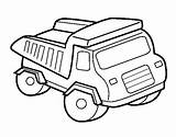 Toy Truck Coloring Dump Pages Drawing Colouring Clipart Garbage Trucks Clip Drawings Cliparts Paintingvalley Library sketch template
