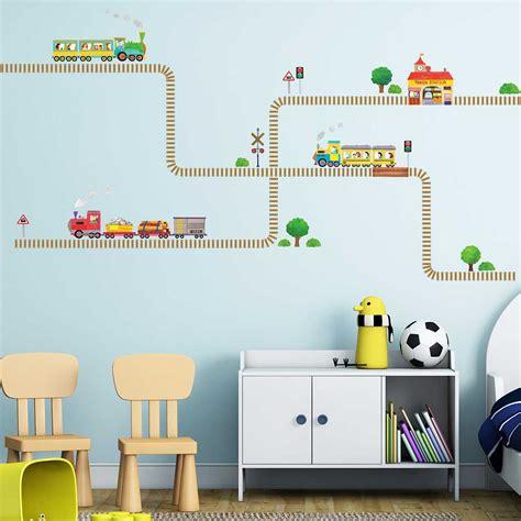 Kinderzimmer Gestalten Eisenbahn by Kinderzimmer Tapete Eisenbahn Bibkunstschuur