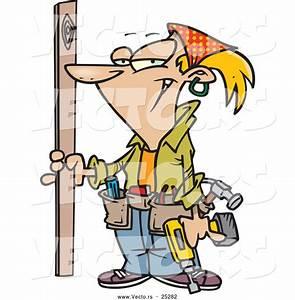 Cartoon Carpenter Clipart (17+)