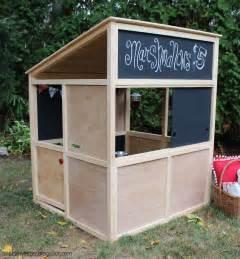 plans building a playhouse