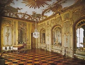 Sanssouci Palace Interior, Potsdam Sanssouci OR Palace, OR ...
