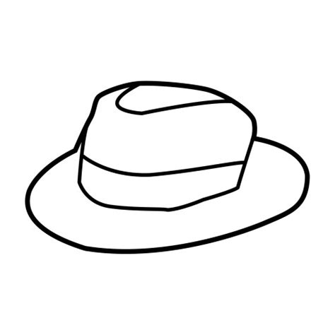 dibujos de sombreros para colorear e imprimir imagui