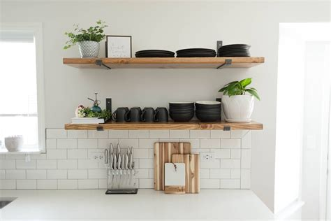 Shelving In Kitchen Ideas by Kitchen Shelving Ideas That Won T The Bank