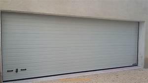 installation d39une porte de garage sectionnelle motorisee With marque porte de garage