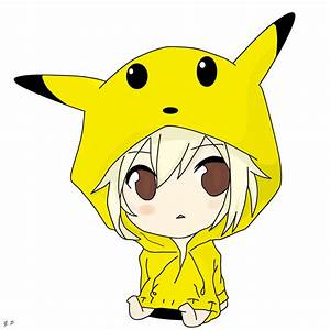 Chibi Pikachu Girl by Geoffery10 on DeviantArt