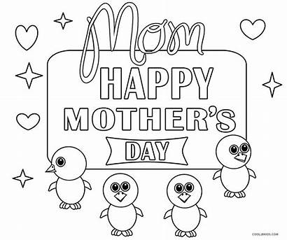 Coloring Pages Mothers Mother Printable Cool2bkids