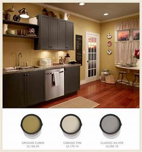 25 best ideas about grey yellow kitchen on pinterest With kitchen colors with white cabinets with office stickers