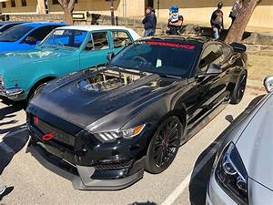 Ford Mustang S550 Black with HRE FF15 Aftermarket Wheels   Wheel Front