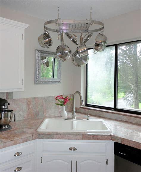 corner kitchen sink design ideas interior design