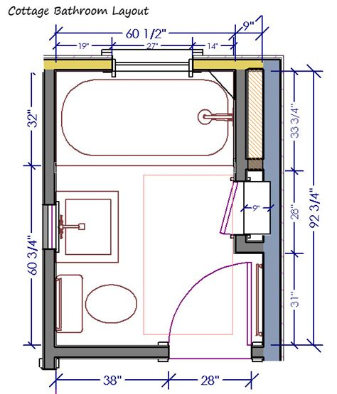 and bathroom layouts cottage bathroom archives page 3 of 3 design