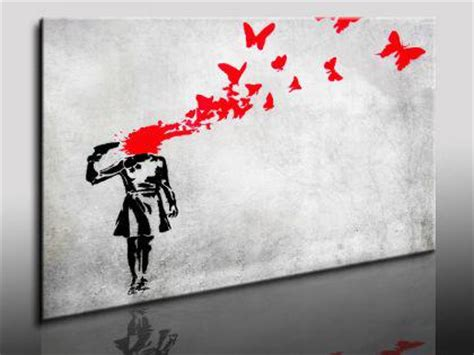 banksy bilder kaufen quot banksy quot graffiti 80x60cm streetart graffiti wandbilder k poster kaufen bei