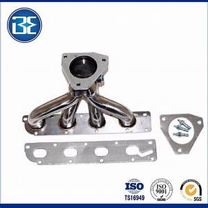 304 Stainless Steel Exhaust Turbo Manifold Header For 05