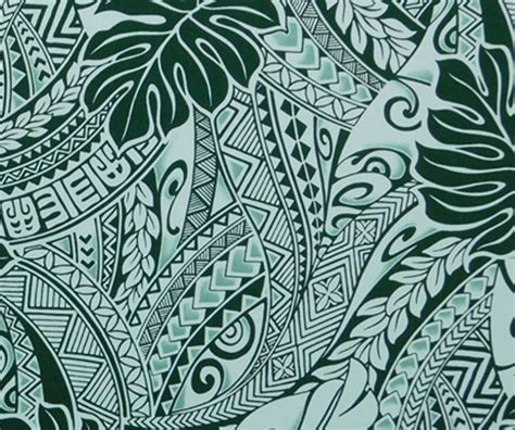 tapa fabric hawaii polynesian tattoo check
