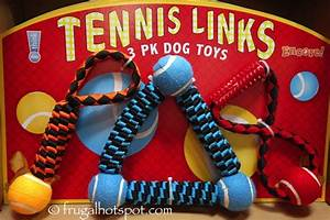 costco think dog tennis links 3 pk dog toys 999 With think dog toys costco