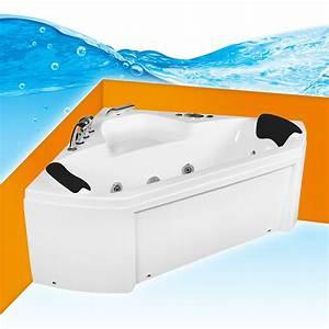 Whirlpool Pool Badewanne Eckwanne Wanne A1402 ALL 135x135