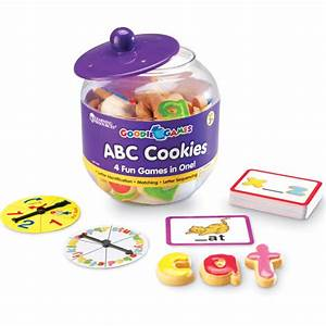 learning resources goodie games abc cookies walmartcom With cookie letters game