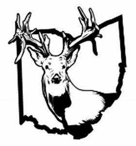 ohio deer hunting 2 decal sticker With kitchen cabinets lowes with ohio state car stickers