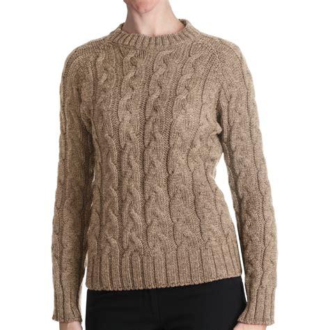 merino wool sweater womens peregrine by j g merino wool sweater cable crew