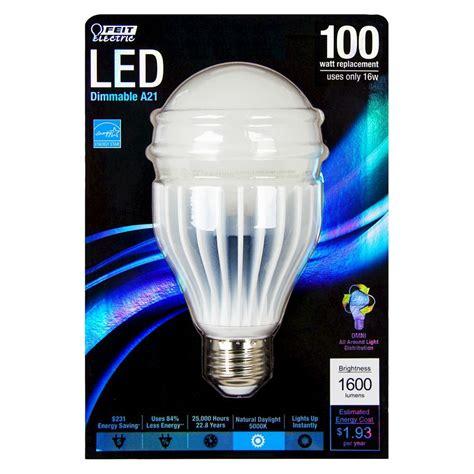 feit 100 watt a21 omni directional led light bulb