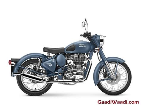 Royal Enfield Classic 500 Image by Royal Enfield Classic 500 Squadron Blue Unveiled Priced