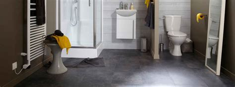 sol vinyl salle de bain bien choisir sol de salle de bains leroy merlin