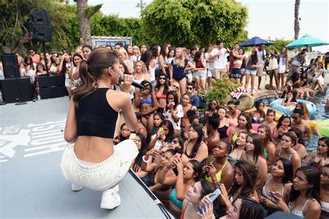 Zendaya Performs At Hollister House