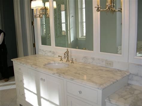 Granite Colors For Bathrooms by Best Color For Granite Countertops And White Bathroom