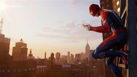 Wallpaper Spider-man 2018, Cityscape, E3 2018