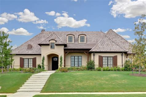 Traditional Country Home by Country Traditional Exterior Dallas By
