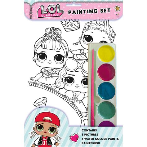 lol surprise painting set painting books   works