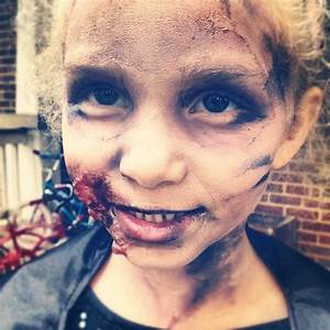 Zombie makeup for kids! Inspired by, The Walking Dead ...