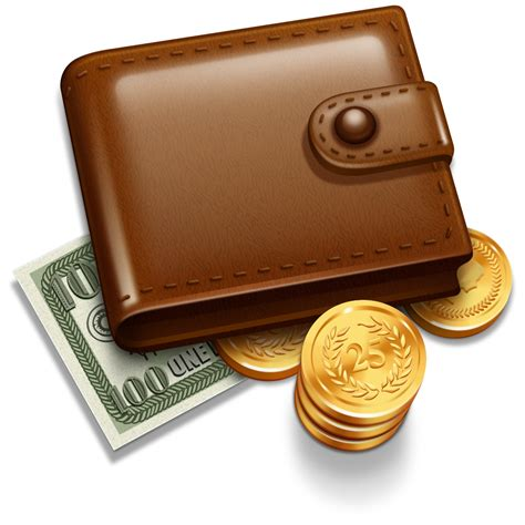 ribbon phone wallet wallet with money coins png 42773 free icons and png