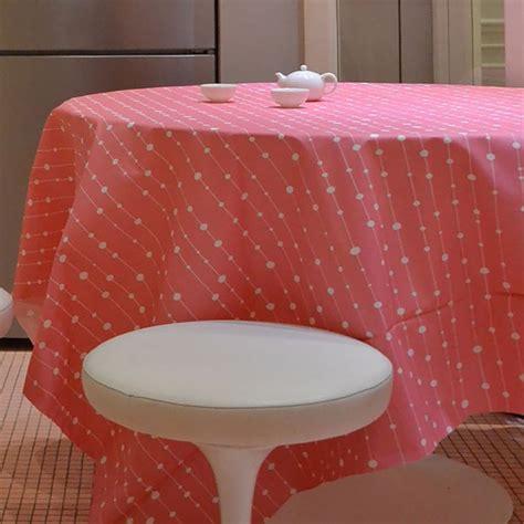 Tischdecke Abwaschbar Hochwertig by Tischdecke Abwaschbar Hochwertig Perlen Rosa