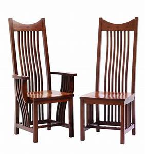 Classic Mission Amish Dining Room Chairs Amish Dining