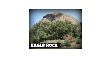 eagle rock california postcard zazzle