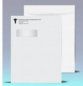 double window envelope template - 9 x 12 window envelopes catalog style
