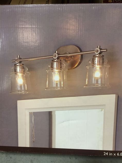 Lowes Lighting Fixtures Bathroom by 0612659 3 Light Lowes Allen And Roth Winbrell Yellow