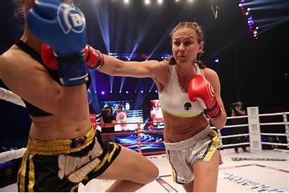 Kickboxing Bellator Ring Cris Cyborg